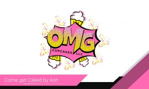 OMG Cupcakes Business Cards 2